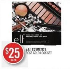 E.l.f. Cosmetics Rose Gold Look Set