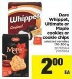 Dare Whippet - Ultimate Or Maple Cookies Or Cookie Chips - 170-300 g