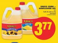 Unico Corn or Sunflower Oil - 2 L