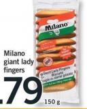Milano Giant Lady Fingers - 150 g