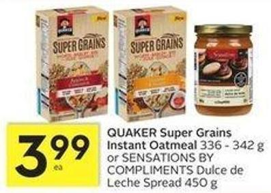 Quaker Super Grains Instant Oatmeal