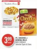 PC - Cheerios or General Mills Kids Cereals
