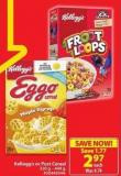 Kellogg's or Post Cereal 320 g - 440 g