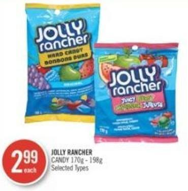 Jolly Rancher Candy 170g - 198g