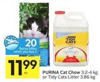 Purina Cat Chow - 20 Air Miles Bonus Miles