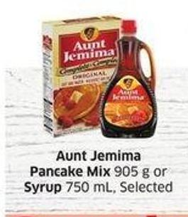 Aunt Jemima Pancake Mix 905 g or