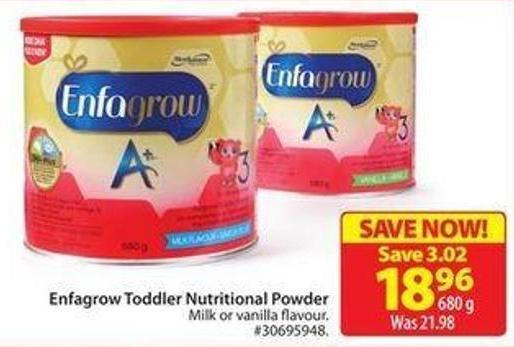 Enfagrow Toddler Nutritional Powder