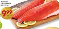 Rainbow Trout Fillets 22.02/kg