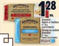 Brunswick Kippers Or Sardines 92 - 106 g