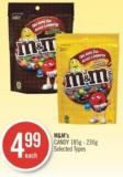 M&m's Candy 185g - 230g
