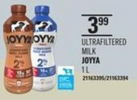 Joyya Ultrafiltered Milk 1 L