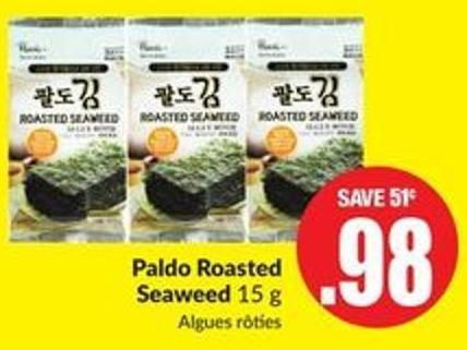 Paldo Roasted Seaweed 15 g