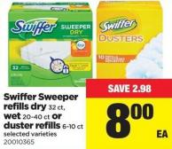 Swiffer Sweeper Refills Dry 32 Ct - Wet 20-40 Ct Or Duster Refills 6-10 Ct