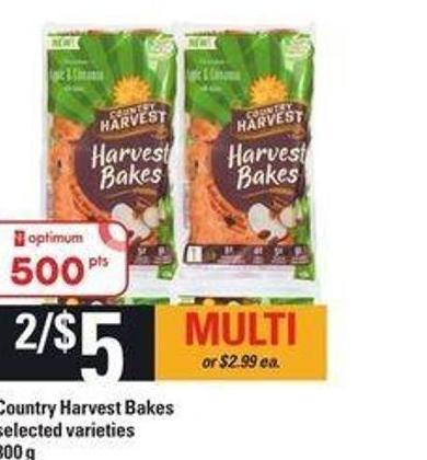 Country Harvest Bakes - 300 g