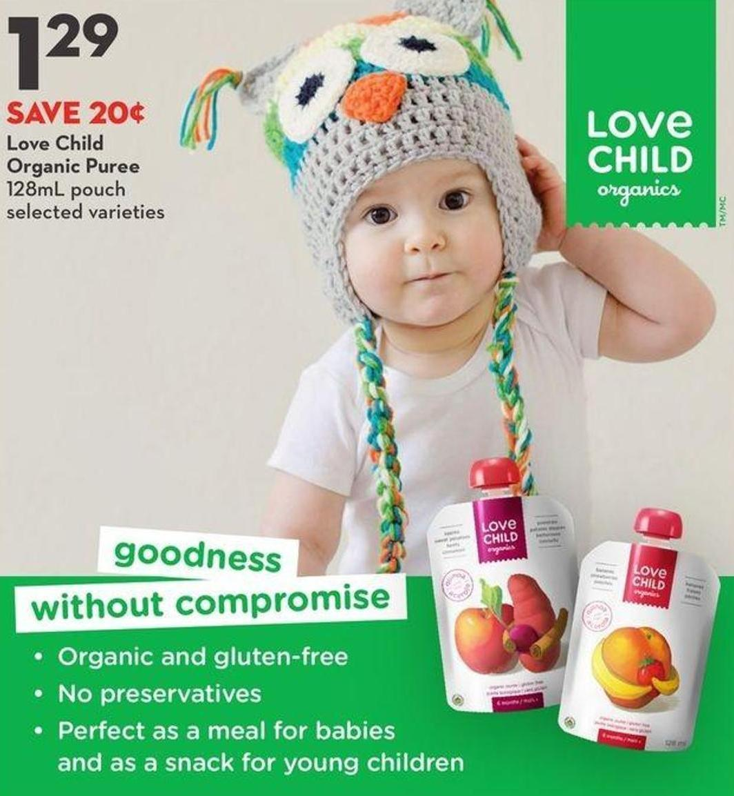 Love Child Organic Puree