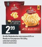 Orville Redenbacher Microwave - 6/8's Or Ready-to-eat Popcorn - 116-220 g
