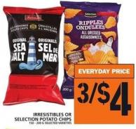 Irresistibles Or Selection Potato Chips 150 - 200 G
