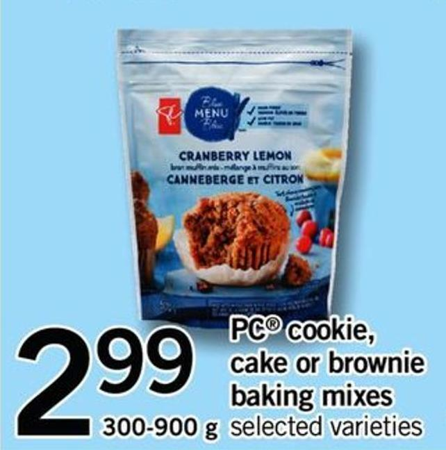 PC Cookie - Cake Or Brownie Baking Mixes