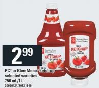 PC Or Blue Menu Ketchup - 750 Ml/1 L