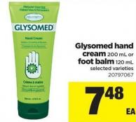 Glysomed Hand Cream - 200 Ml Or Foot Balm - 120 Ml