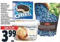 Nestlé Real Dairy Ice Cream - Frozen Dessert - Novelties Or Irresistibles Frozen Fruit