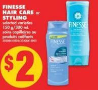 Finesse Hair Care or Styling - 150 G/300 mL