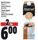 Natrel Cream 473 ml - 1 L