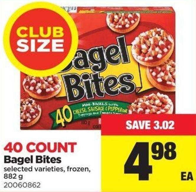 Bagel Bites - 882 G - 40 Count