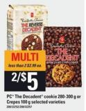 PC The Decadent Cookie - 280-300 G Or Crepes - 100 G