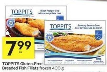 Toppits gluten free breaded fish on sale for Breaded fish recipe