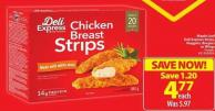 Maple Leaf Deli Express Strips - Nuggets - Burgers or Wings