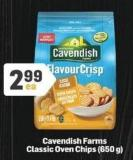 Cavendish Farms Classic Oven Chips - 650 G