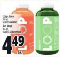 Loop Juice 355 ml