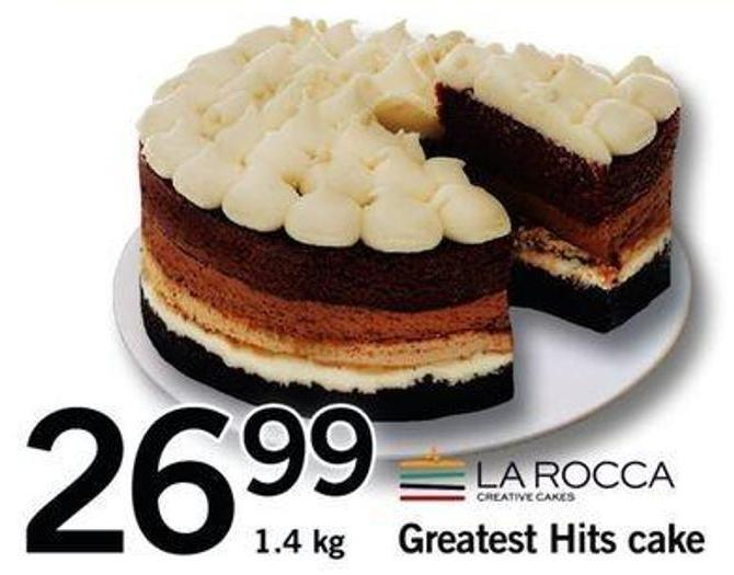 Greatest Hits Cake - 1.4 Kg