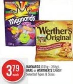 Maynards (315g - 355g) - Dare or Werther's Candy