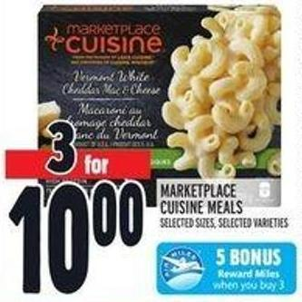 Marketplace Cuisine Meals