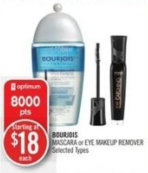 Bourjois Mascara or Eye Makeup Remover