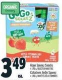 Gogo Squeez Snacks