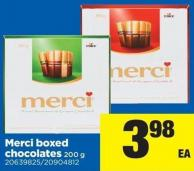 Merci Boxed Chocolates 200 G