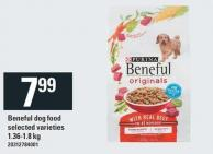 Purina Beneful Dog Food - 1.36-1.8 Kg