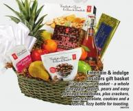Entertain & Indulge Insiders Gift Basket