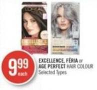 Excellence - Féria or Age Perfect Hair Colour