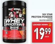 Six Star Protein Powder