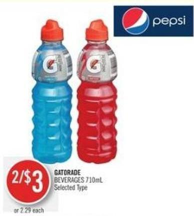 Gatorade  Beverages 710ml