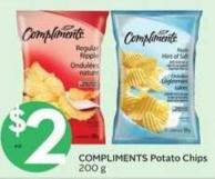 Compliments Potato Chips 200 g