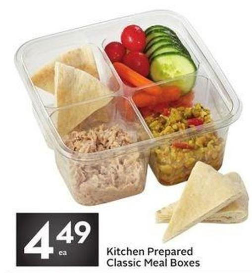 Kitchen Prepared Classic Meal Boxes