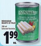 Mehoudar Hearts Of Palm 398 ml