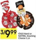 Natrel Snacking Cheese 6 Pk