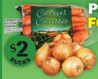 Carrots Or Yellow Onions