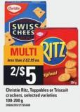 Christie Ritz - Toppables Or Triscuit Crackers - 100-200 g